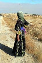 Photo: Hajja Sara, strong, Susiya, southern Palestine