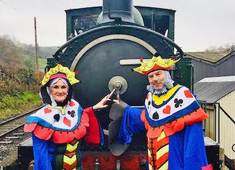 Entertainment first on Llanfair Line