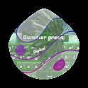 Summer green GO Keyboard icon