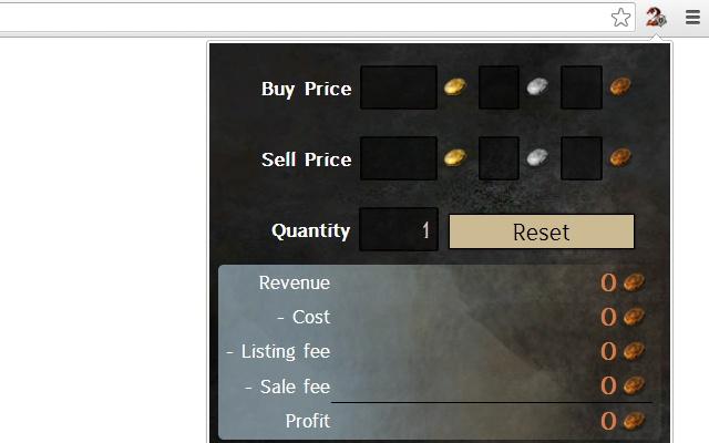 Guild Wars 2™  Trading Post Calculator