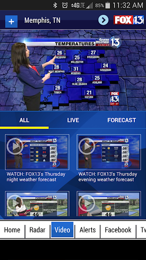 FOX13 Weather App Screenshot