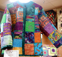 """Photo: #23-W, Maria Brower, """"Jacket""""VOTED FAVORITE WEARABLE ITEM"""