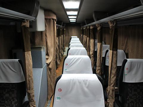 下津井電鉄「ペガサス号」 H520 車内