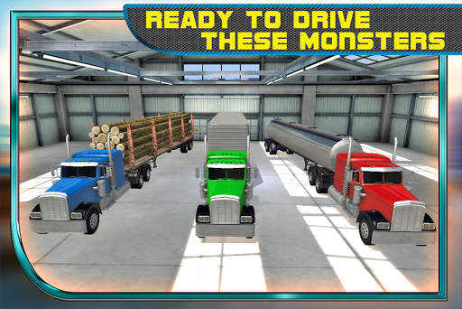 Transport Truck Racer 3D