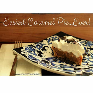 Easiest Caramel Pie.