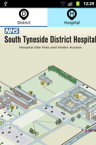 South Tyneside NHS- screenshot