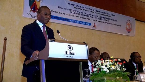 Le ministre de l'Economie numérique et de la Poste Bruno Nabagne Koné  © : DR