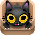Kitty Jump! - Tap the cat! Hop it into the box! icon