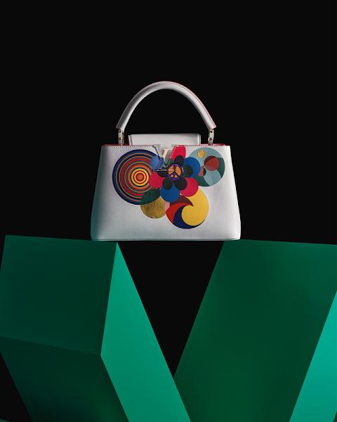 Louis Vuitton Artycapucines by Beatriz Milhazes