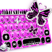 App Luxury Butterfly Zebra Keyboard Theme APK for Windows Phone