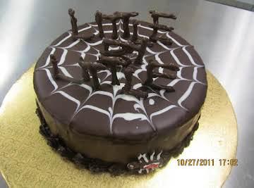 Chocolate Coffee Peanut Butter Cake