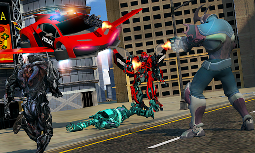 Download free US Police Multi Robot Transform: Wild Horse Games for PC on Windows and Mac apk screenshot 3