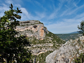 Photo: Rocher du Cire in de Gorges de la Nesque