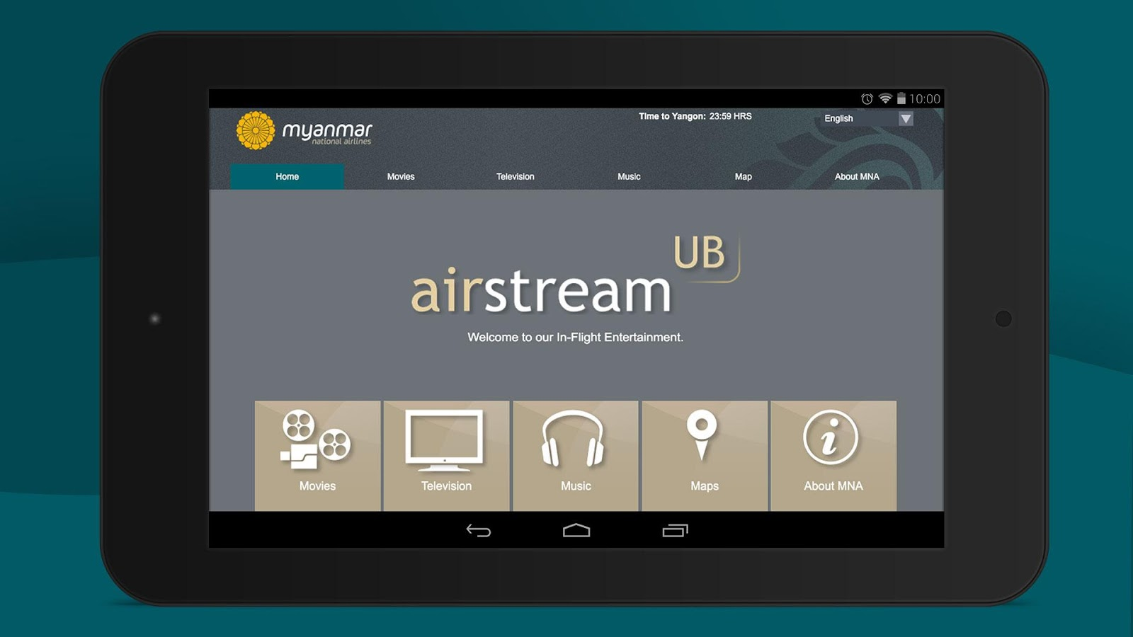 airstream UB- screenshot