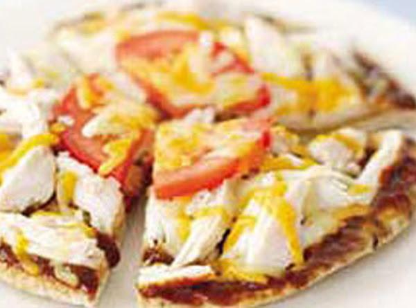 Kitkat's Bbq Turkey Pita Pizza Recipe