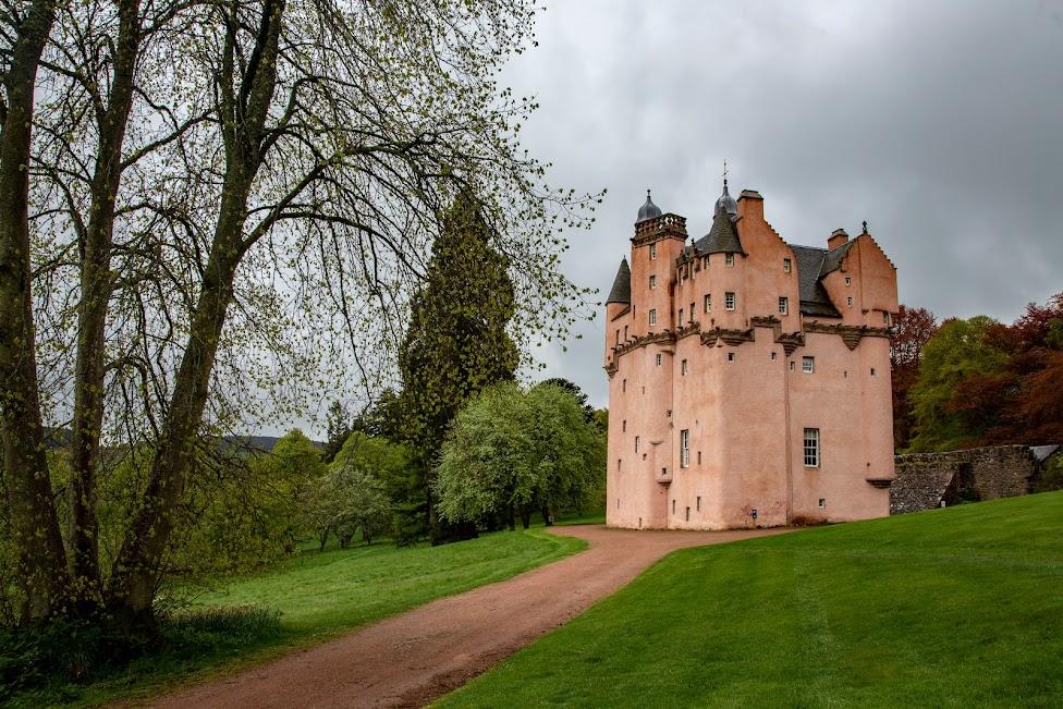 szkockie zamki, Craigievar Castle, Szkocja