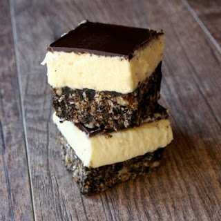 Nanaimo Bars With Olive Oil