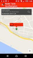 Screenshot of Radio Taxis Southampton