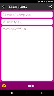 Mój Pamiętnik Screenshot