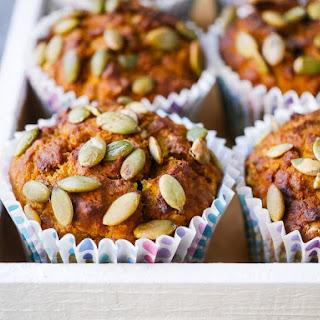 Oat and Honey Pumpkin Muffins (gluten free).