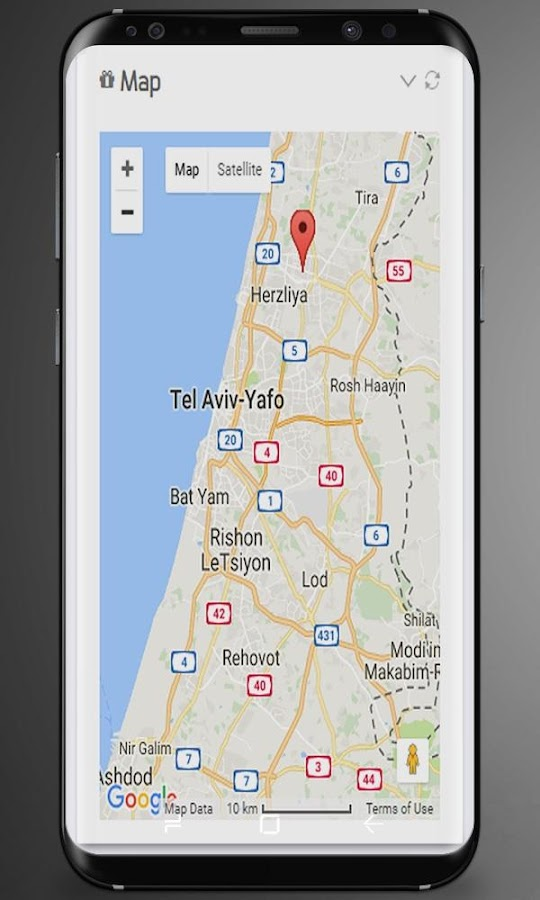 Screenshots of Mobile Tracker for iPhone