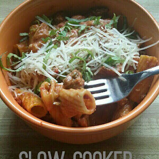 Slow Cooker Spicy Tuscan Ragu