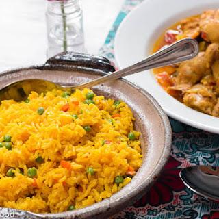 Yellow Spanish Rice.