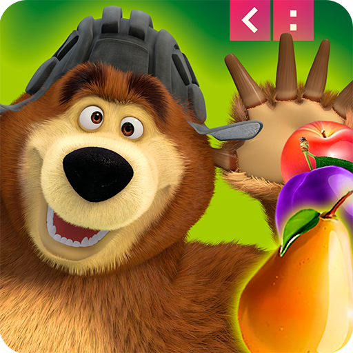 解謎App|Masha and The Bear Jam Match 3 LOGO-3C達人阿輝的APP