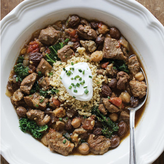 Slow Cooker Moroccan Lamb Stew.