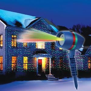 Proiector 3D holografic cu lumina laser pentru sarbatori