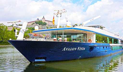 Avalon-Vista-exterior-3 - Avalon Vista makes a port call in Würzburg, Germany.