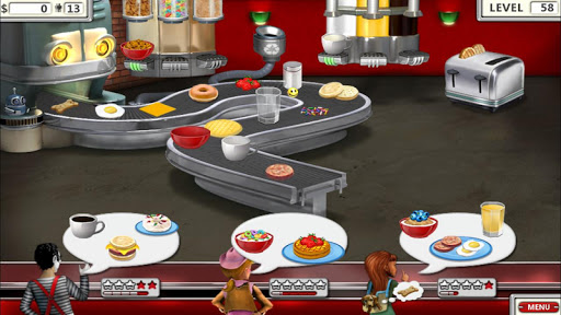 Burger Shop 2 – Crazy Cooking Game with Robots 1.1 screenshots hack proof 2