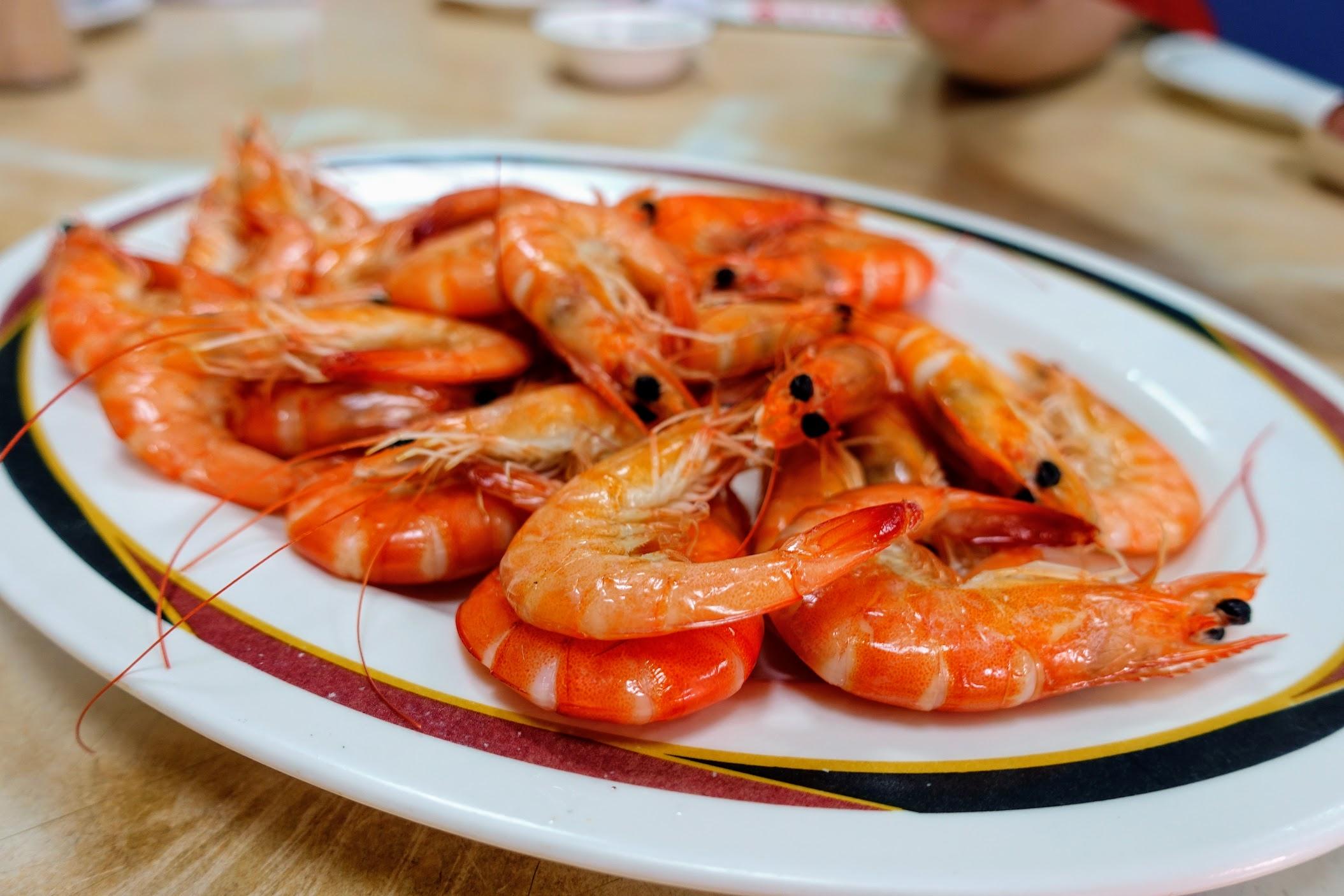 清蒸蝦,蝦子還蠻新鮮的...