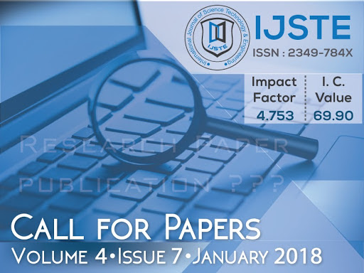 International Journal of Science Technology and Engineering - IJSTE Journal on Google