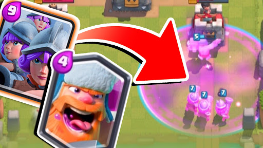 Pogodi Clash Royale karticu screenshot 8