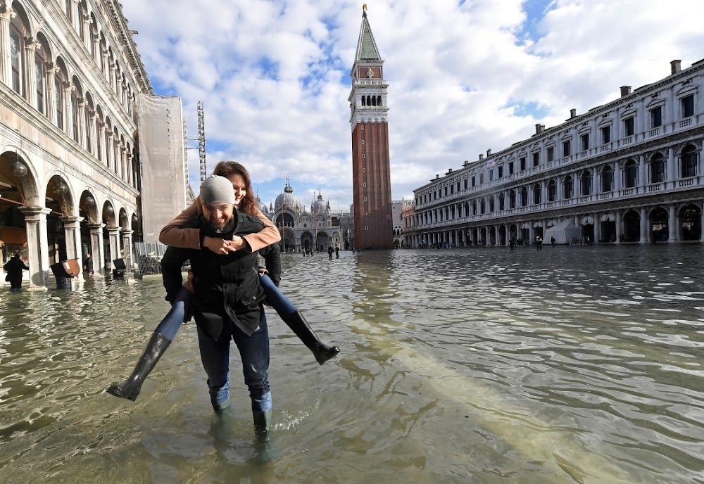Venice needs millions to restore waterlogged basilica, but insurers won't pay