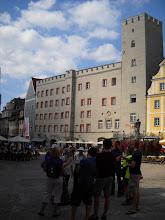 Photo: A merchant's palace--plus storage--plus tower