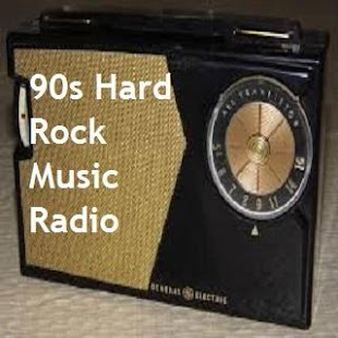 90s Hard Rock Music Radio - náhled