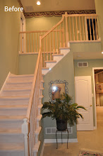 Photo: (Before) Urso's Stair work Marlton, NJ