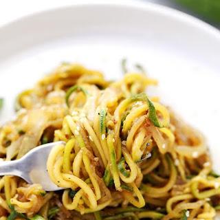 Stir Fry Zucchini Noodles (Zoodles!) Recipe