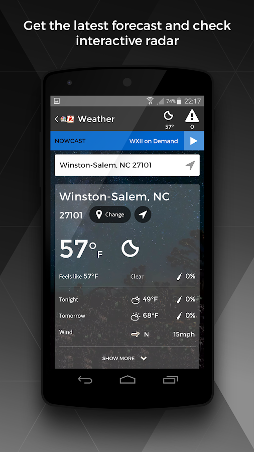 WXII 12 News and Weather- screenshot