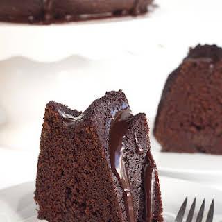 Chocolate Whiskey Cake.