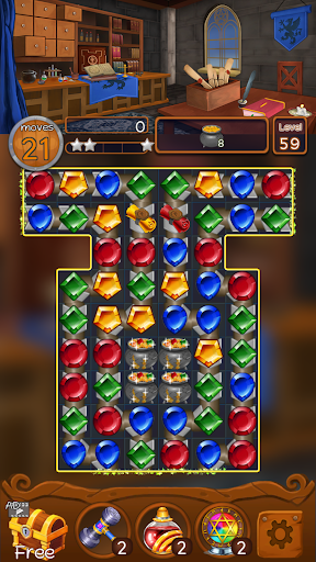 Jewels Magic Kingdom: Match-3 puzzle 1.1.3 screenshots 2
