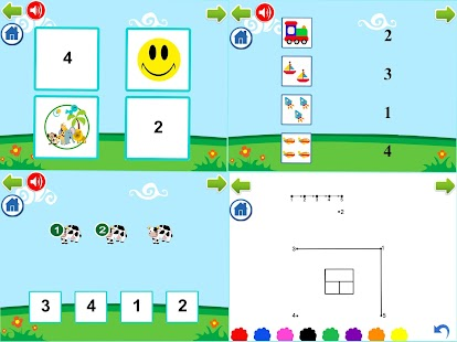 PreK Letters and Numbers Learning Tracing Games - náhled