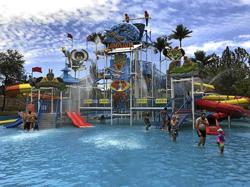 The park is aiming to be the biggest games and water theme park in Africa.