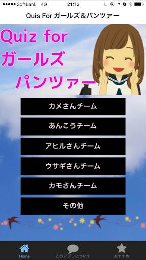 Quiz for ガールズ パンツァー