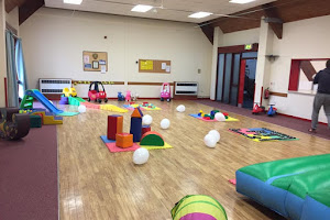 Soft play toys Equipment in a Hall