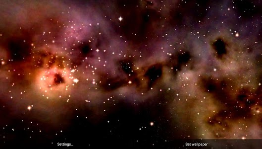 Space! Stars & Clouds 3D Free screenshot 6