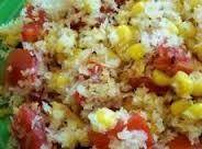 Baked Corn And Tomatoes Recipe