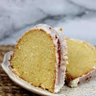 Moist Orange Pound Cake.